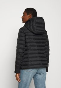 Calvin Klein - COATED ZIP LIGHT JACKET - Down jacket - black - 2