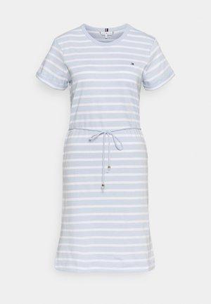 COOL SHIFT SHORT DRESS  - Jersey dress - blue