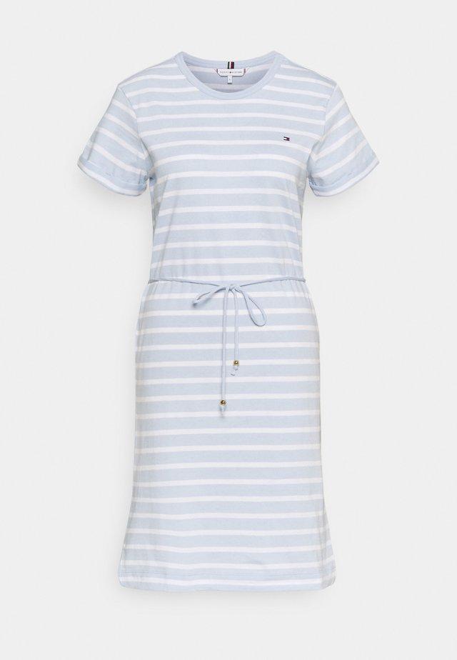 COOL SHIFT SHORT DRESS  - Jerseyjurk - blue