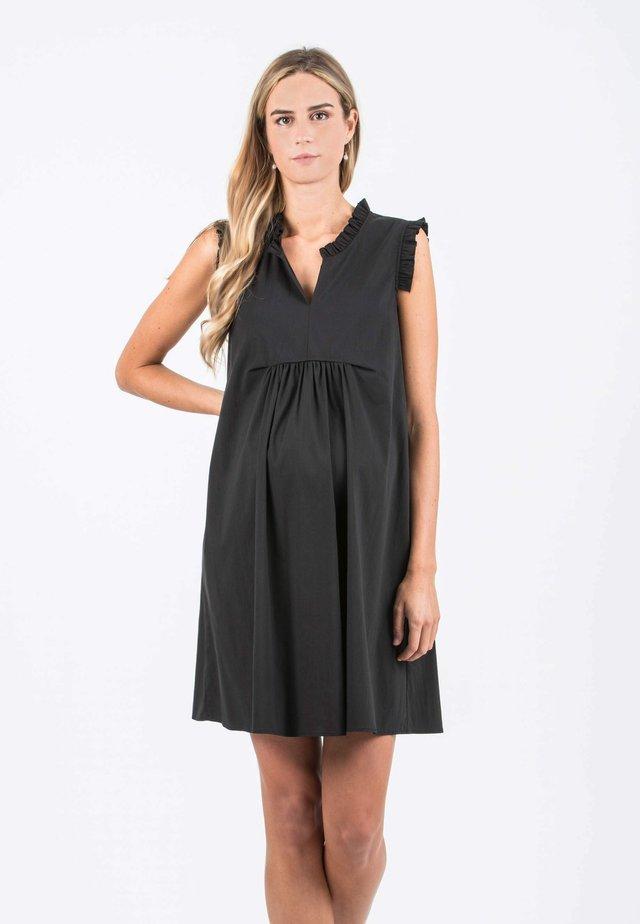 SOFIA - Korte jurk - black