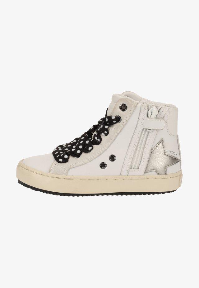 Zapatillas altas - white c1000