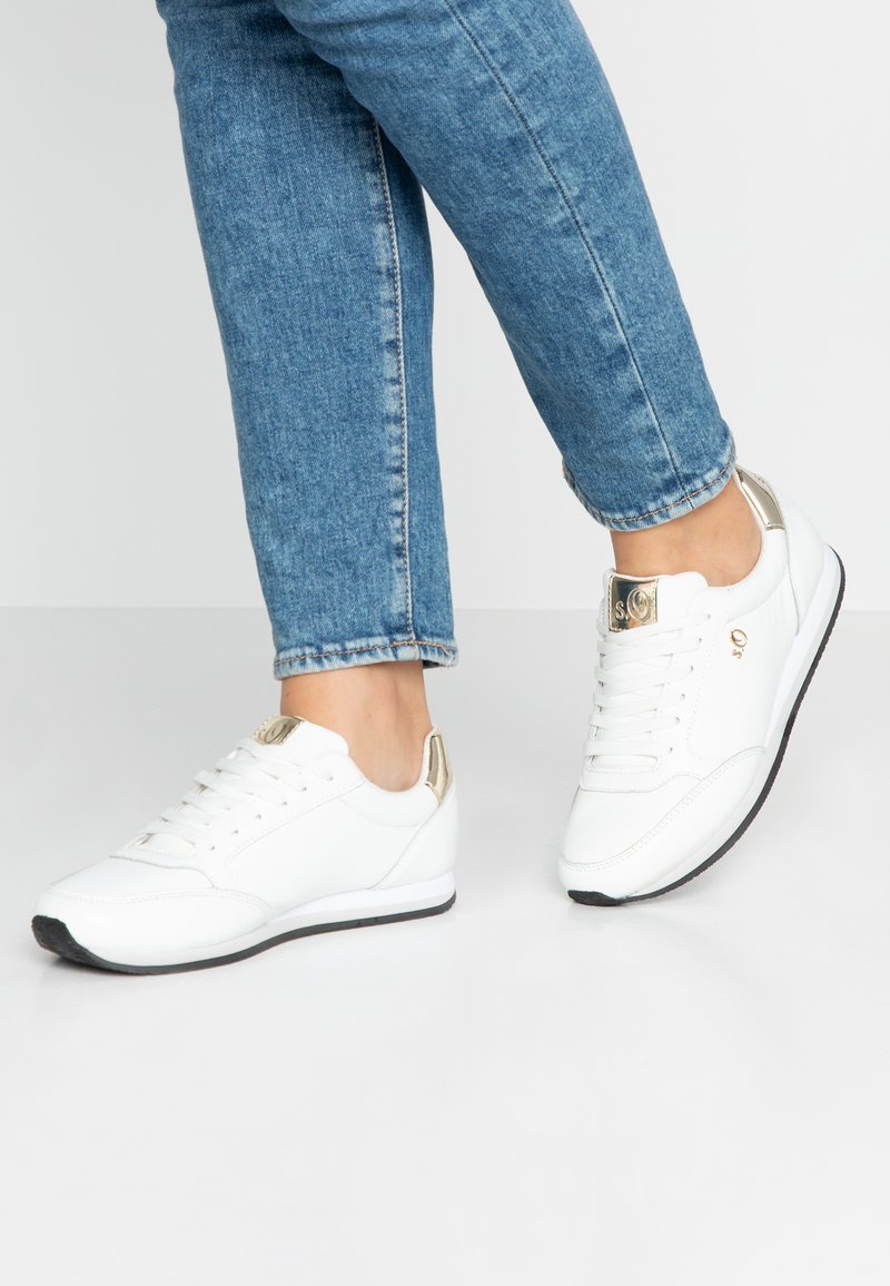 s.Oliver BLACK LABEL - Trainers - white