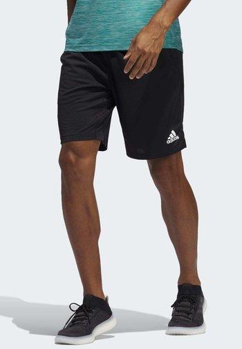 ALL SET 2 DESIGNED2MOVE SHORTS - Shorts - black