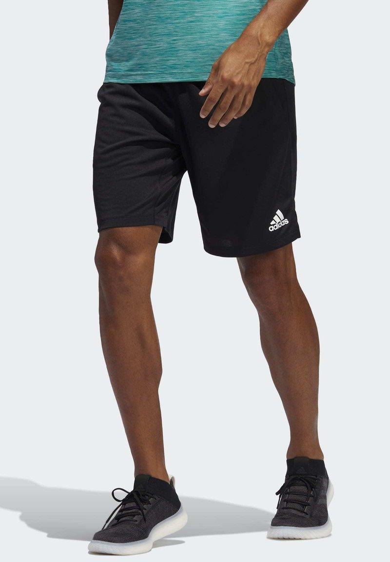 adidas Performance - ALL SET 2 DESIGNED2MOVE SHORTS - Shorts - black