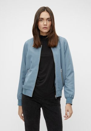GLÄNZENDE - Bomber Jacket - blue mirage