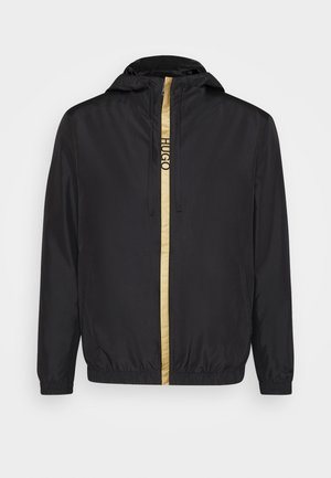 Summer jacket - black/gold