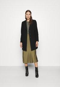 AllSaints - BENNO TEE DRESS SET - Long sleeved top - pale olive - 1