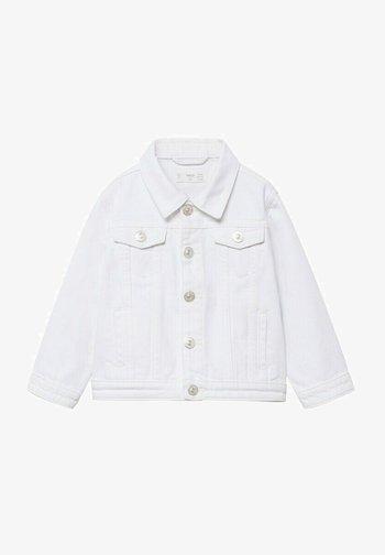 KATOENEN  - Denim jacket - wit