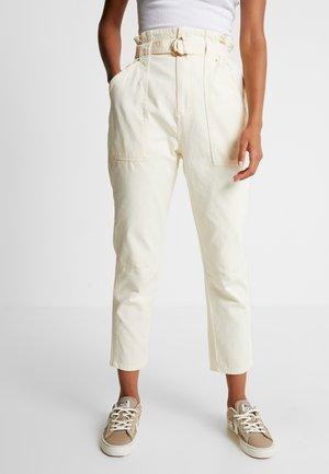 Kalhoty - cream