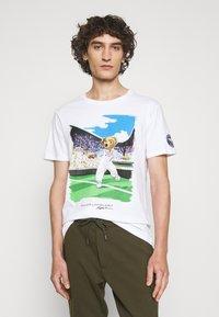 Polo Ralph Lauren - T-shirt imprimé - pure white - 4