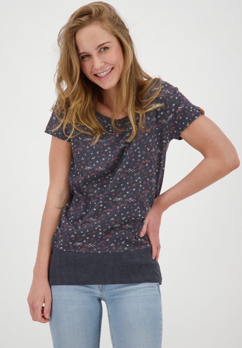alife & kickin - Print T-shirt - marine