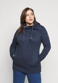Ragwear Plus - NESKA PLUS - Sweatshirt - navy - 0