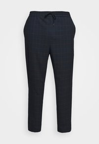 Only & Sons - ONSLINUS LONG CHECK - Trousers - dark navy - 3