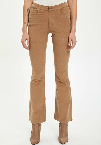 Jean flare - brown