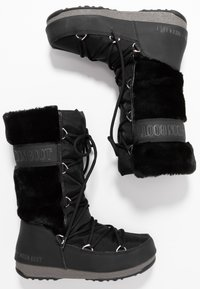 Moon Boot - MONACO WP - Vinterstøvler - black - 3