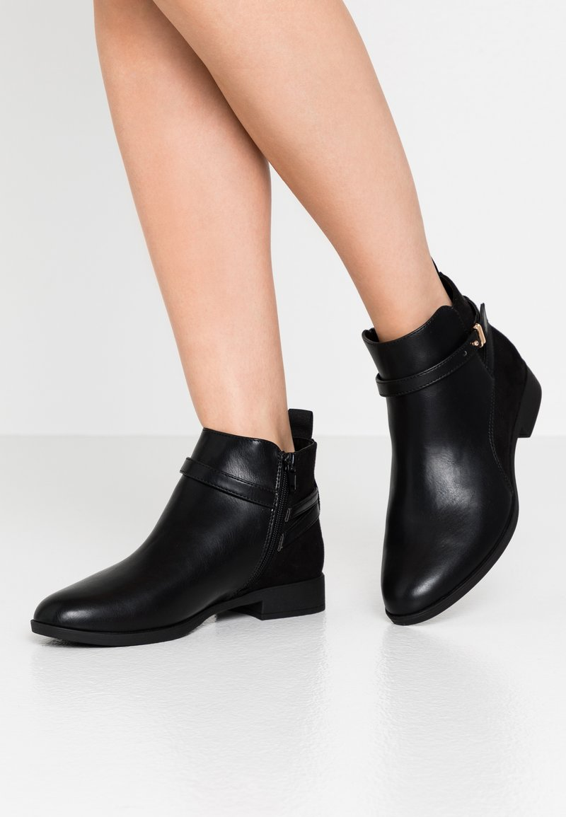 Anna Field Wide Fit - Ankle boots - black