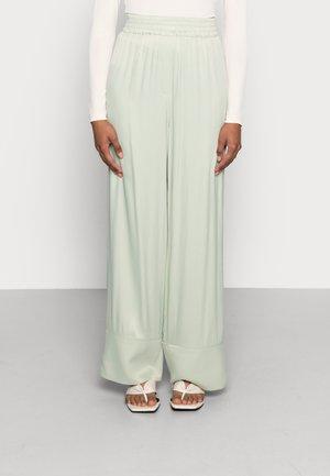 LYRIC TROUSERS - Trousers - desert sage green