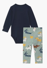 Lindex - DOGS AND NAVY SET - Legging - navy - 1