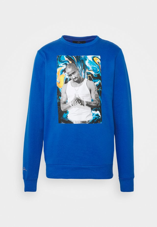 PAC PAINT - Sweatshirt - blue