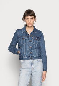 Levi's® - ORIGINAL TRUCKER - Veste en jean - soft as butter dark - 0