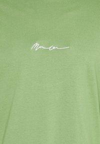 Mennace - ESSENTIAL SIGNATURE UNISEX - Long sleeved top - khaki - 2
