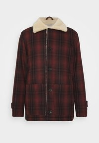 Nudie Jeans - MANGAN - Summer jacket - brick red - 7