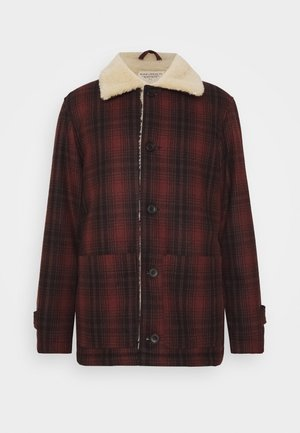 MANGAN - Summer jacket - brick red