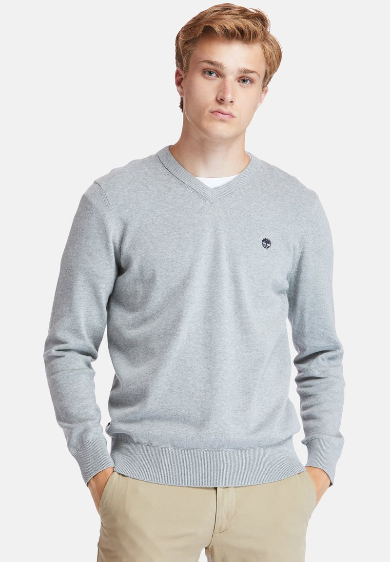 Timberland - WILLIAMS RIVER - Jumper - medium grey heather
