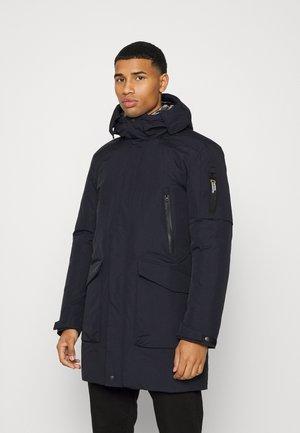 HOODED URBAN COAT - Winter jacket - black