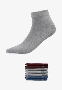 camano - 7 PACK - Socks - bordeaux - 1
