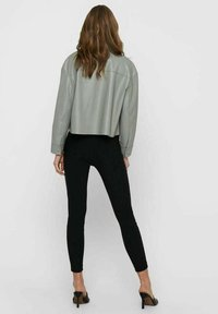ONLY - Faux leather jacket - shadow - 2