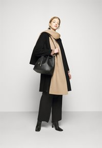 Theory - SCARF COAT LUXE NEW - Classic coat - black/palomino - 1