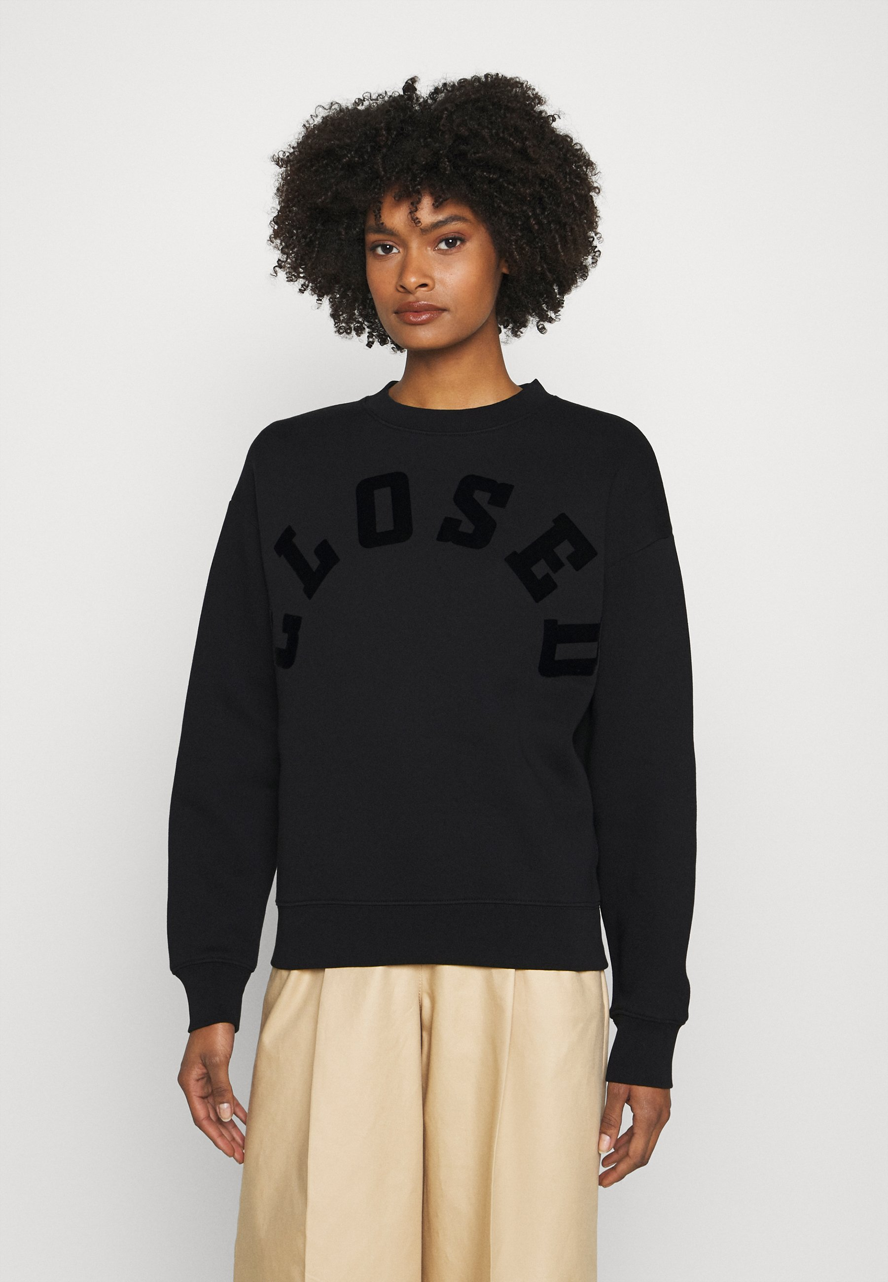 Women CREW NECK WITH TONAL LOGO - Sweatshirt