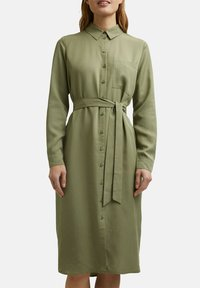 Esprit - Shirt dress - light khaki - 5