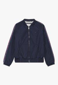Tommy Hilfiger - ESSENTIAL TAPE JACKET - Light jacket - blue - 0