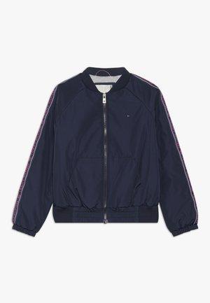 ESSENTIAL TAPE JACKET - Light jacket - blue