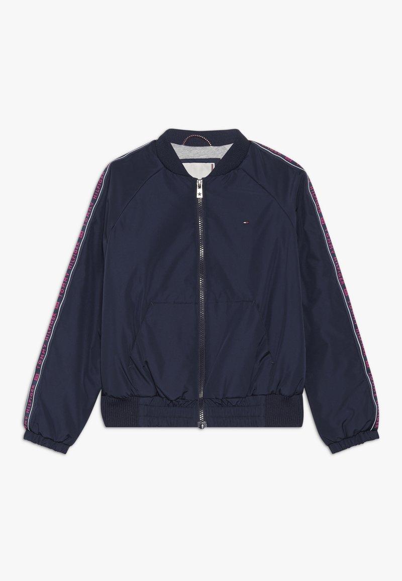 Tommy Hilfiger - ESSENTIAL TAPE JACKET - Light jacket - blue