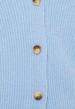 CROP - Cardigan - pale blue