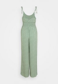 American Eagle - DOUBLE TIE CINCHED - Jumpsuit - green - 1