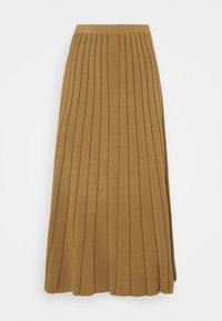 ELYDIA - Maxi skirt - olive