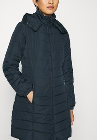 Armani Exchange - CABAN COAT - Classic coat - navy - 5