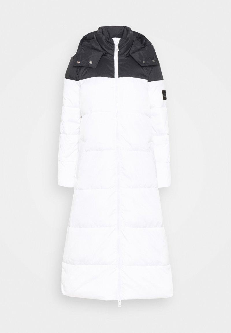 Armani Exchange - Winter coat - off white/black