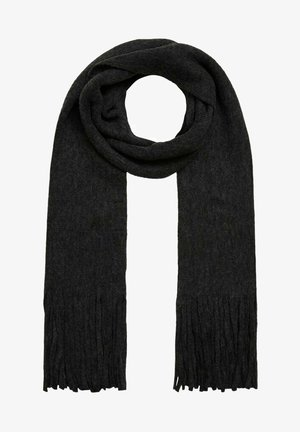 Scarf - dark grey melange