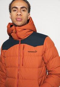 Norrøna - TAMOK JACKET - Ski jacket - orange - 3