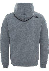 The North Face - MIT WÄRMENDER  - Zip-up sweatshirt - mottled grey - 1