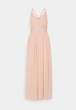 VICELOSIA SEQUIN STRAP ANKLE - Vestido de fiesta - misty rose