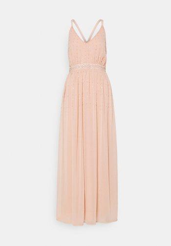 VICELOSIA SEQUIN STRAP ANKLE - Společenské šaty - misty rose