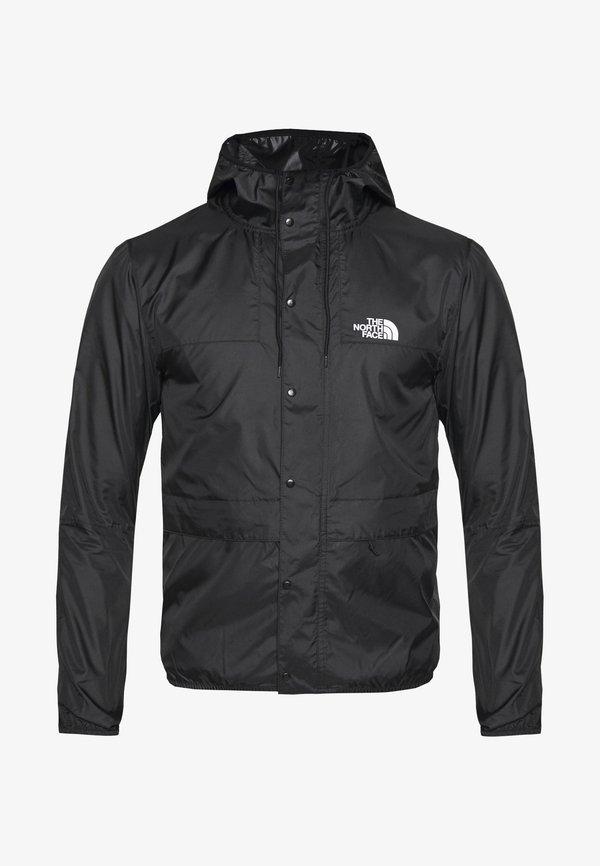 The North Face SEASONAL MOUNTAIN - WiatrÓwka - black/white/czarny Odzież Męska SOFI