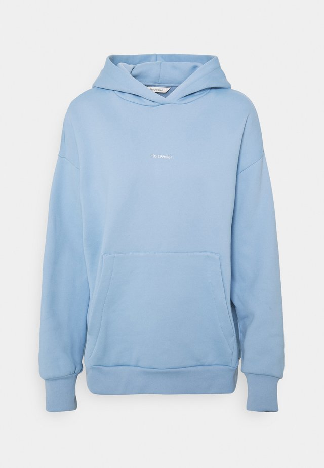 REGULAR HOODIE - Sweater - blue