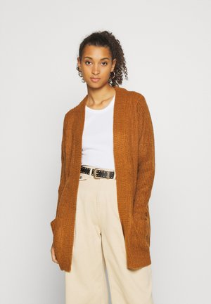 MEGAN  - Cardigan - leather brown